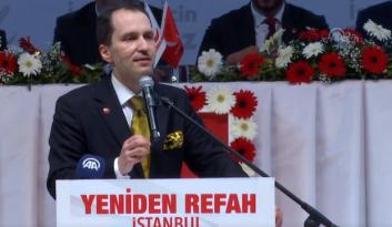 YRP Genel Başkanı Fatih Erbakan: İki şey yapacağız.