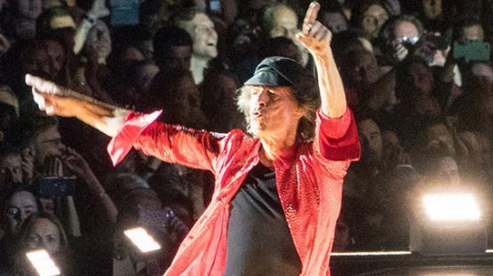 Mick Jagger'a nazar değdi