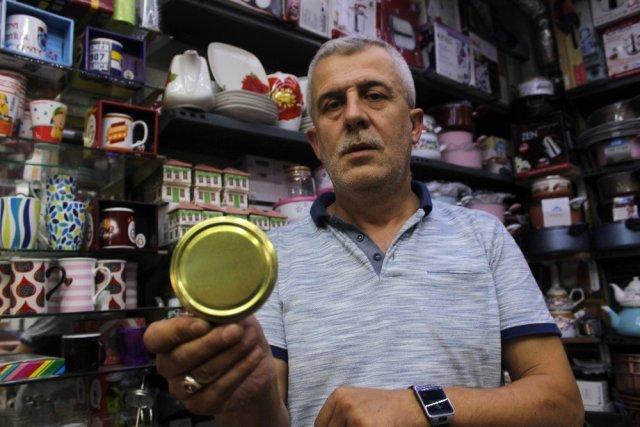 Kışlık konserve hazırlığı İzmit te kavanoz kapağı kıtlığına neden oldu