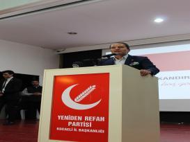 Dr. Fatih Erbakan Kandıra'da Coşku İle Karşılandı