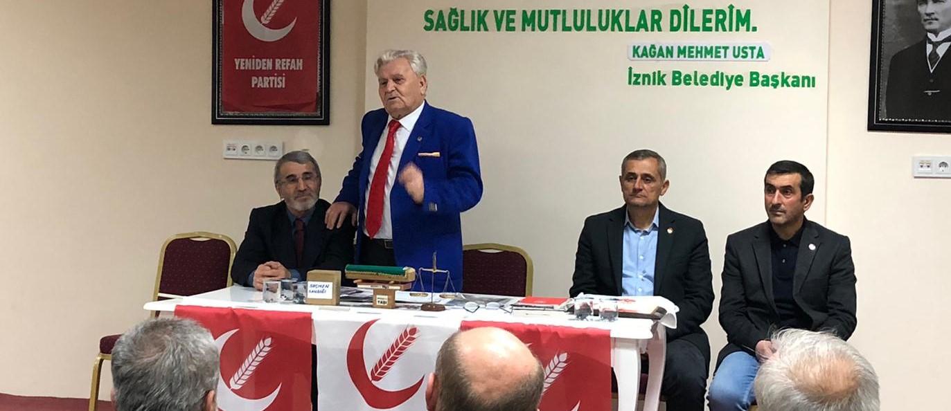 Mehmet Aras İznik de
