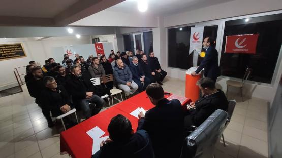 Yeniden Refah Partisi Derince Aralık Ayı İlçe Kongresini Gerçekleştirdi.
