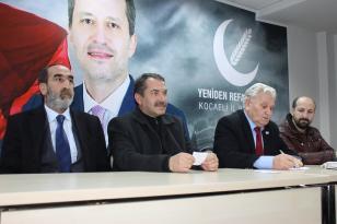 Yeniden refah partisi Kocaeli il teşkilatı haftalık toplantısını parti binasında gerçekleştirdi