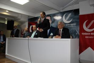 Yeniden Refah Partisi Genel Başkanı Dr. Fatih Erbakan Kocaeli ye Geldi.