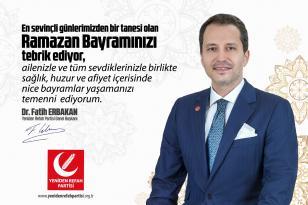 Erbakan Bütün Kocaeli' nin Bayramını Kutladı