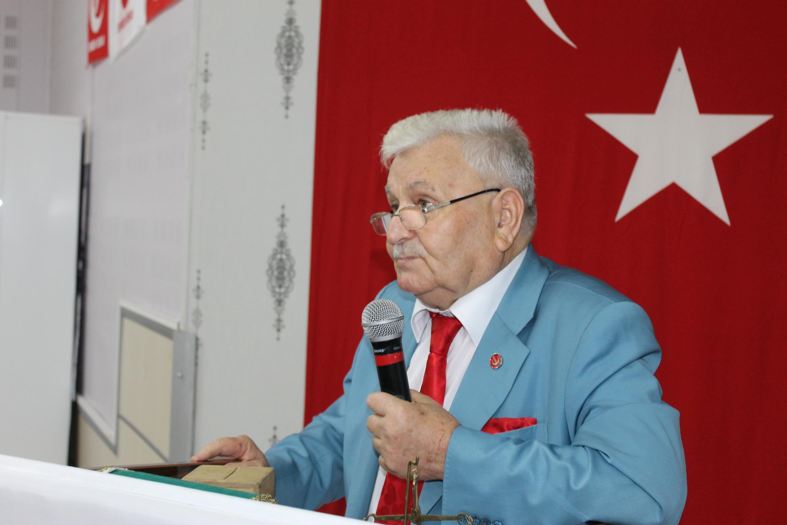 YRP İl Başkanı Mehmet Aras tan 19 Mayıs Kutlama Mesajı