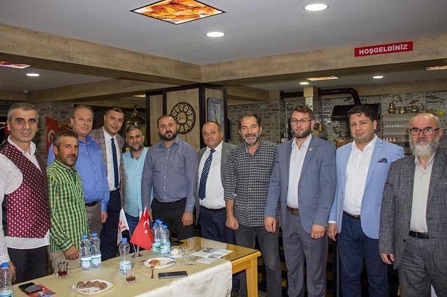 Yeniden Refah Partisi Derince İlçe Başkanlığından Başiskele ye Ziyaret