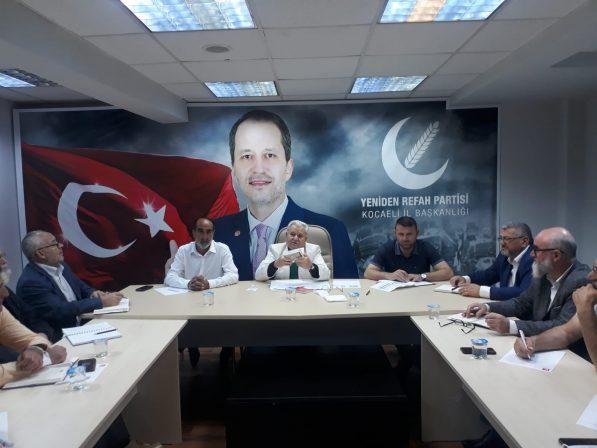 REFAH PARTİSİ ÇALIŞMALARA HIZ VERDİ.