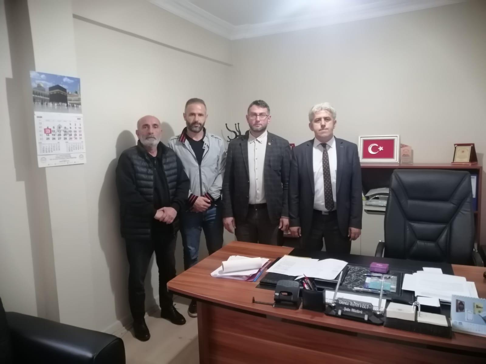 Yeniden Refah Derince İlçe Başkanlığından Camiler ve Din Görevlileri Haftasında ziyaretlerde bulundu
